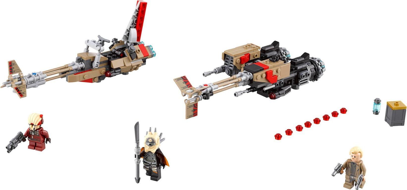 LEGO® Star Wars Cloud-Rider Swoop Bikes™ components