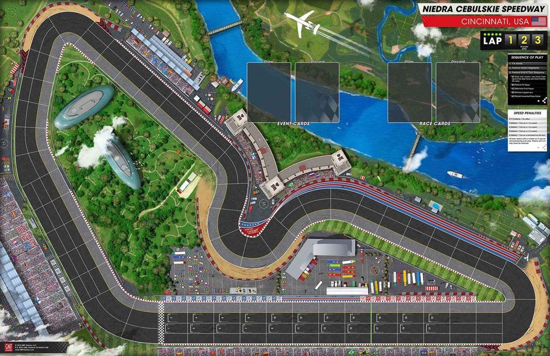 Grand Prix game board