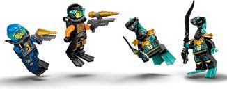 LEGO® Ninjago Ninja Sub Speeder minifigures