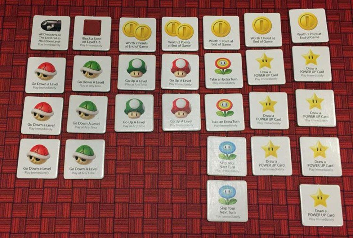 Super Mario: Level Up! cards