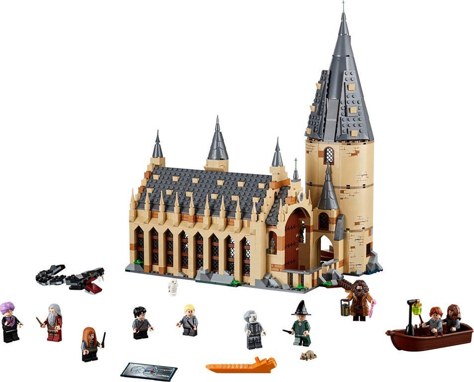 LEGO® Harry Potter Hogwarts™ Great Hall components