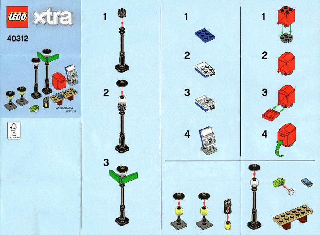 LEGO® Xtra Streetlamps manual