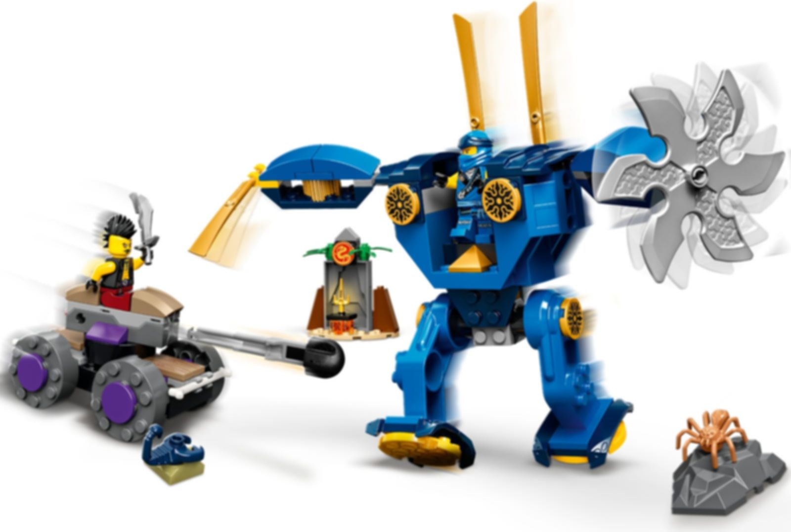 LEGO® Ninjago Jay's Electro Mech gameplay