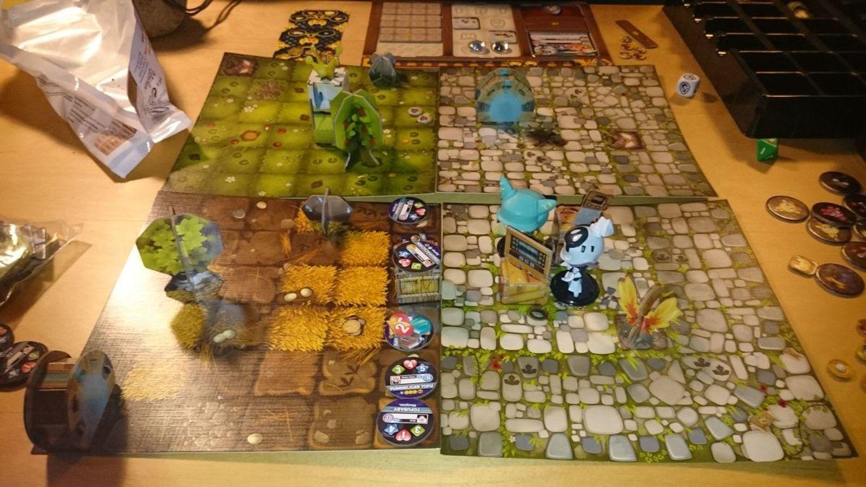 Krosmaster: Quest gameplay
