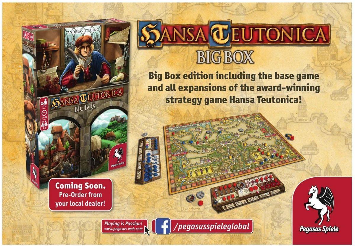 Hansa Teutonica: Big Box components