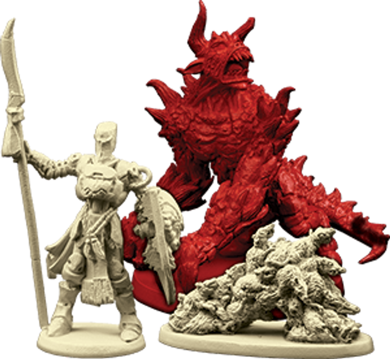 Descent: Journeys in the Dark (Second Edition) - Shadow of Nerekhall miniatures