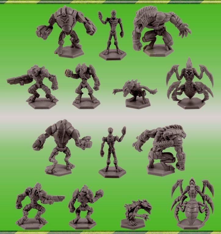 Galaxy Defenders miniatures
