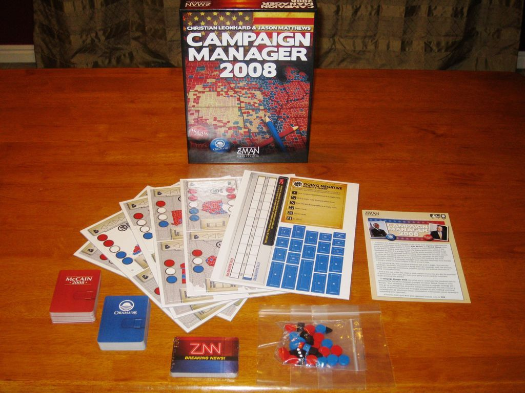 Campaign Manager 2008 components