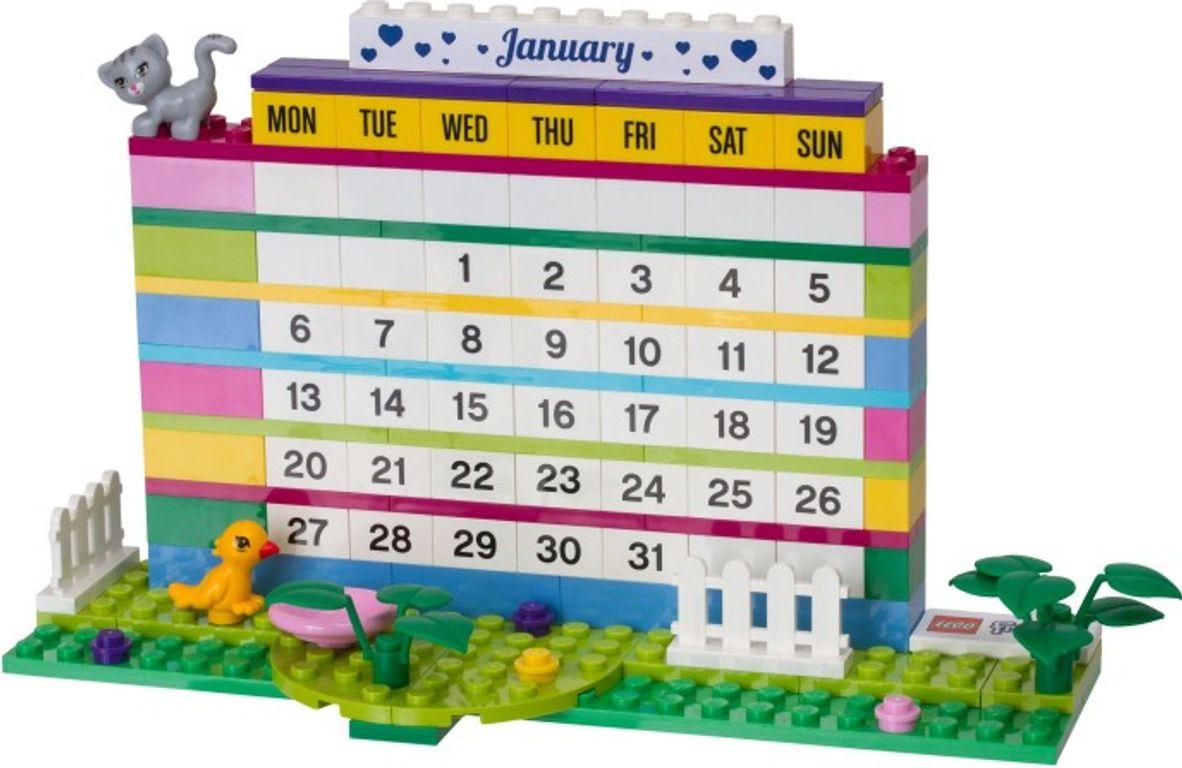 LEGO® Friends Brick Calendar components