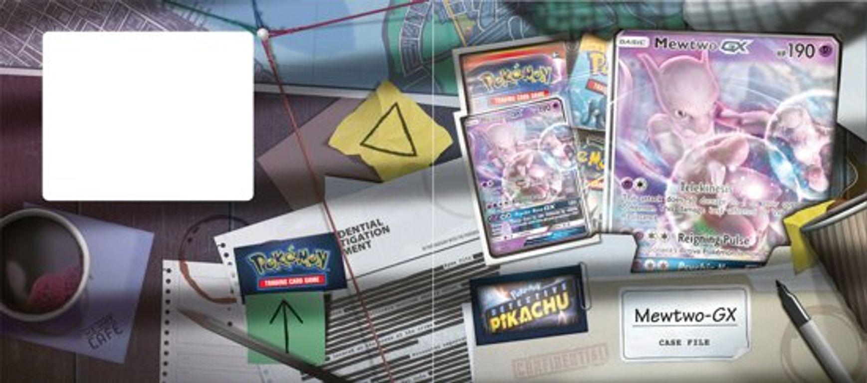 Pokemon Detective Pikachu GX Box Mewtwo box