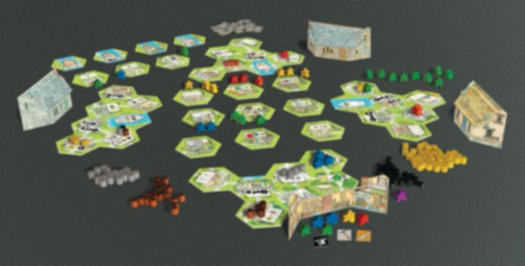 Keyflower gameplay
