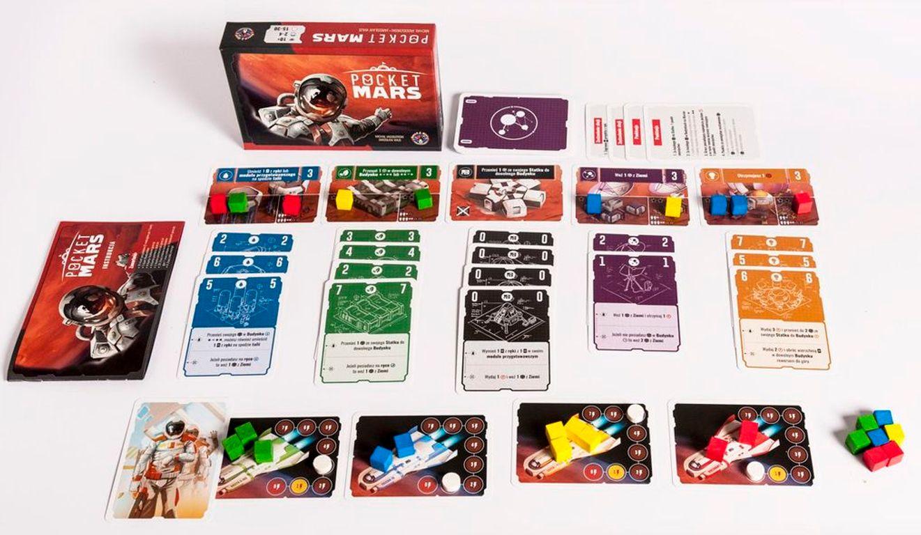 Pocket Mars components