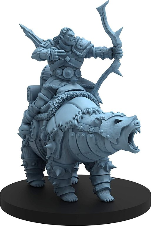 Hall of the Orc King miniature