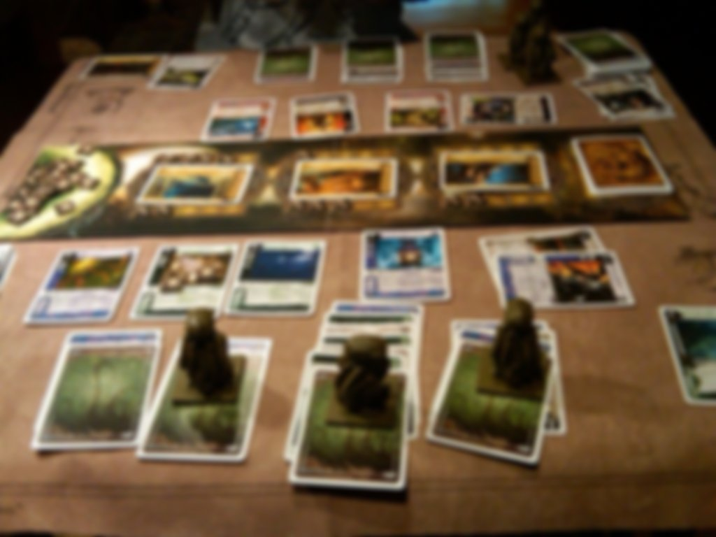 Call of Cthulhu: The Card Game gameplay