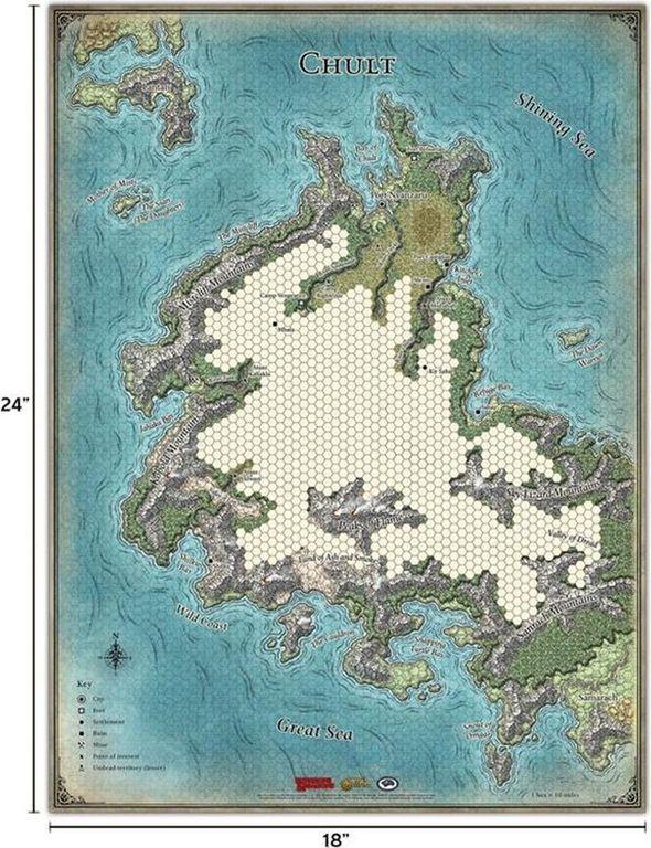Tomb of Annihilation Map Set