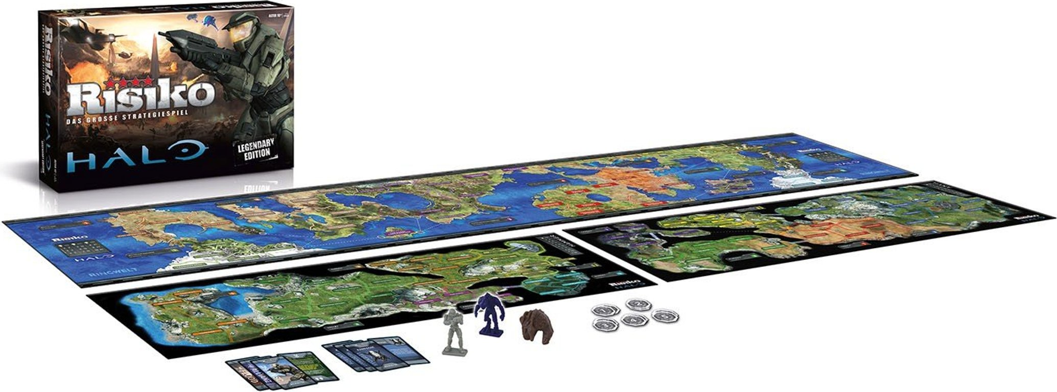 Risk: Halo Legendary Edition components