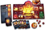 Dice Throne: Season One ReRolled – Barbarian v. Moon Elf components