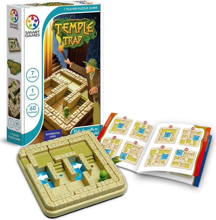 Temple Trap components