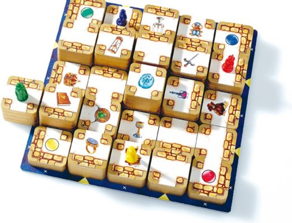 3D Labyrinth components