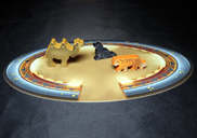 Meeple Circus: The Wild Animal & Aerial Show animals