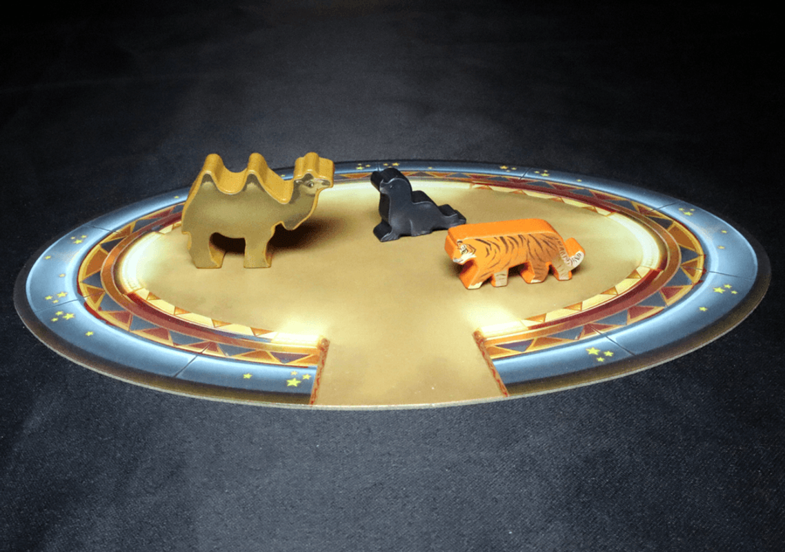 Meeple Circus: The Wild Animal & Aerial Show animaux