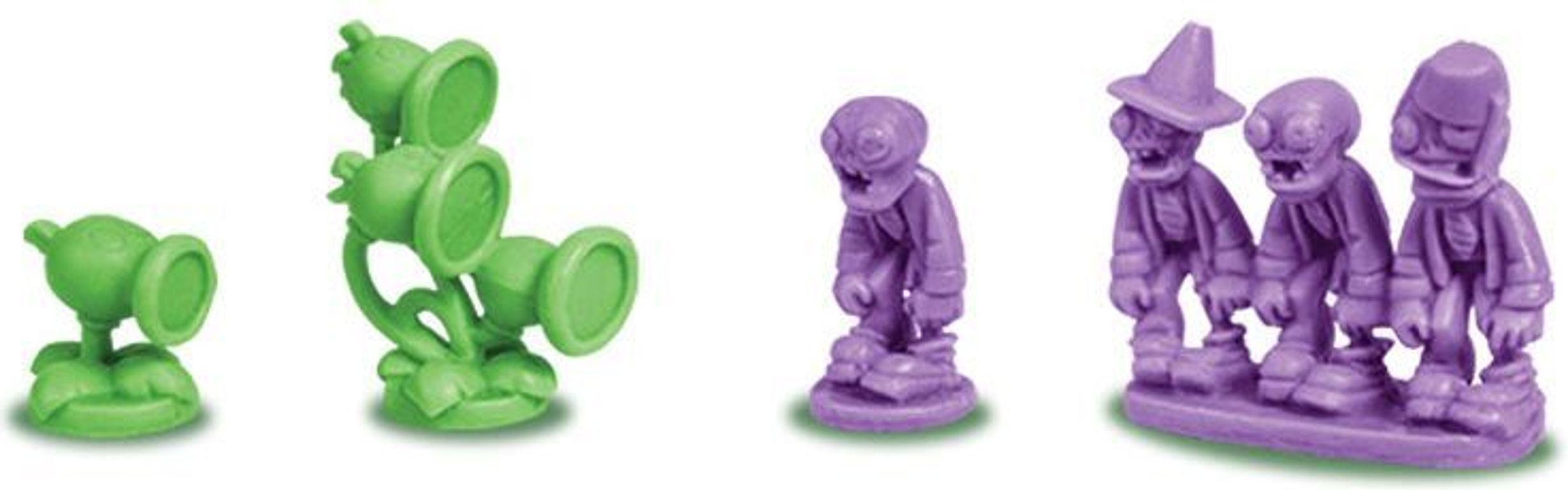 Risk: Plants vs. Zombies miniatures