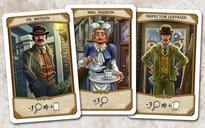 Holmes: Sherlock & Mycroft cards
