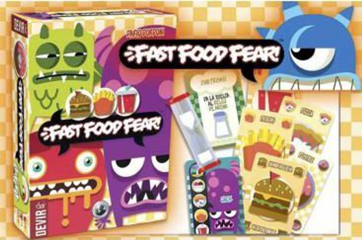 Fast Food Fear! components