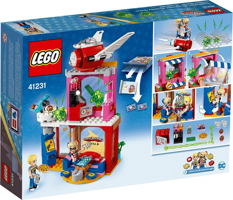 LEGO® DC Superheroes Harley Quinn™ to the rescue back of the box