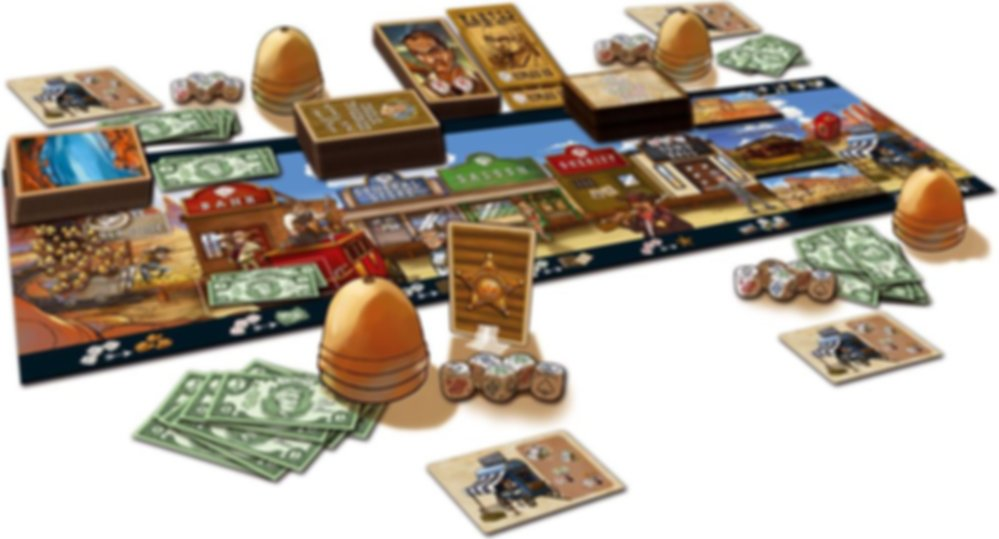 Dice Town Extension components