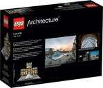 LEGO® Architecture Louvre back of the box
