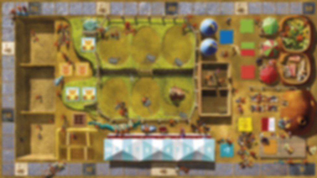 Dungeon Petz game board