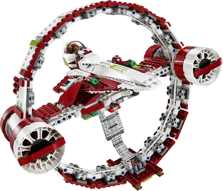 Jedi Starfighter™ With Hyperdrive components