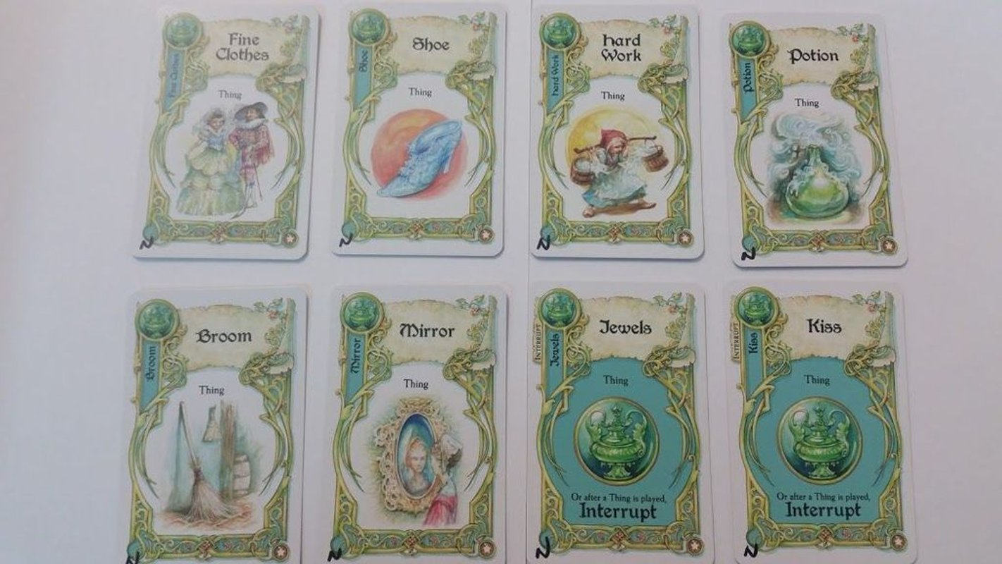 Once Upon a Time: Enchanting Tales cards