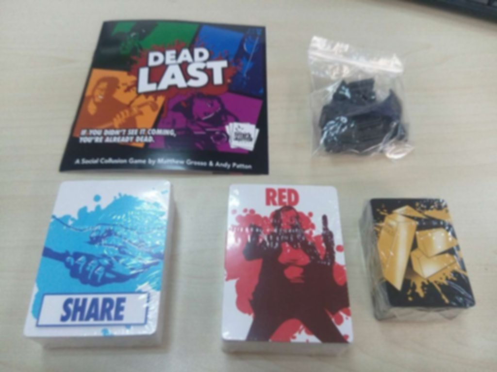 Dead Last components