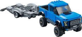 LEGO® Speed Champions Ford F-150 Raptor & Ford Model A Hot Rod components