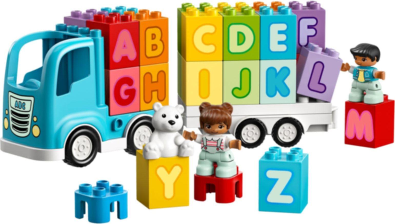 Alphabet Truck components