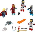 Attack on Avengers Tower minifigures
