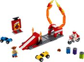 LEGO® Toy Story Duke Caboom's Stunt Show components