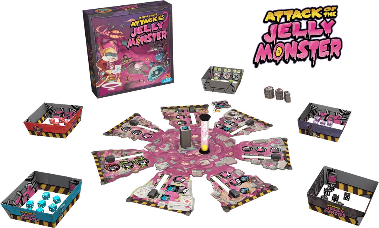 Attack of the Jelly Monster components