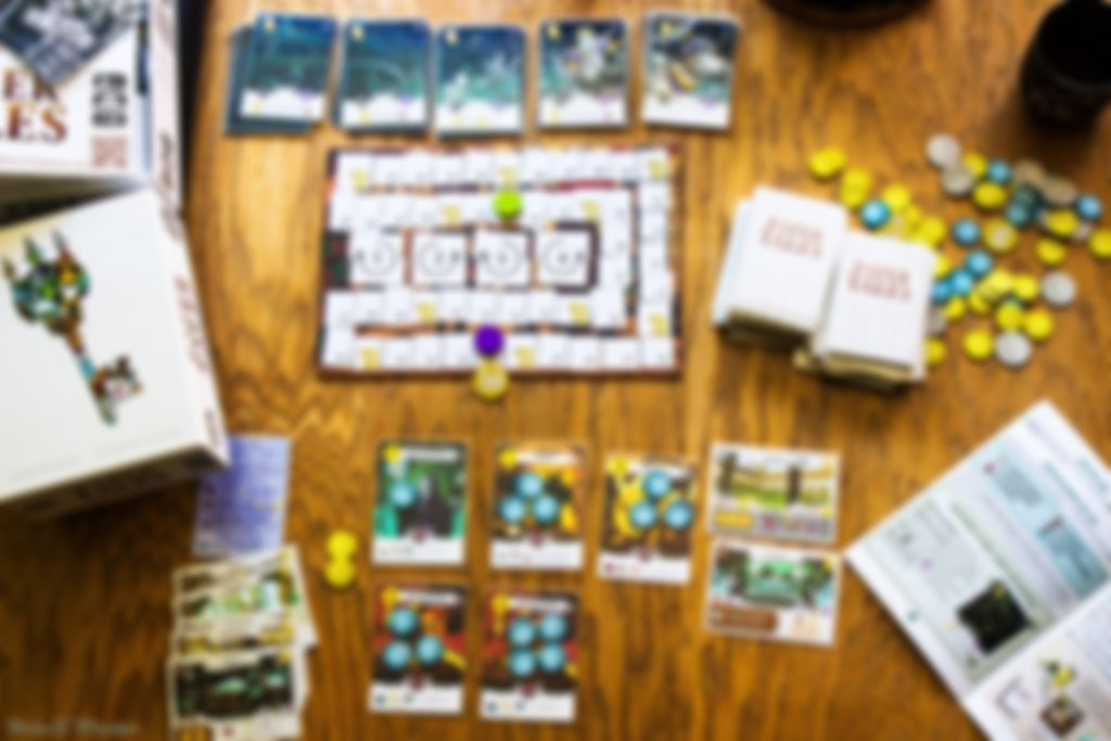 Paper Tales: Beyond the Gates components