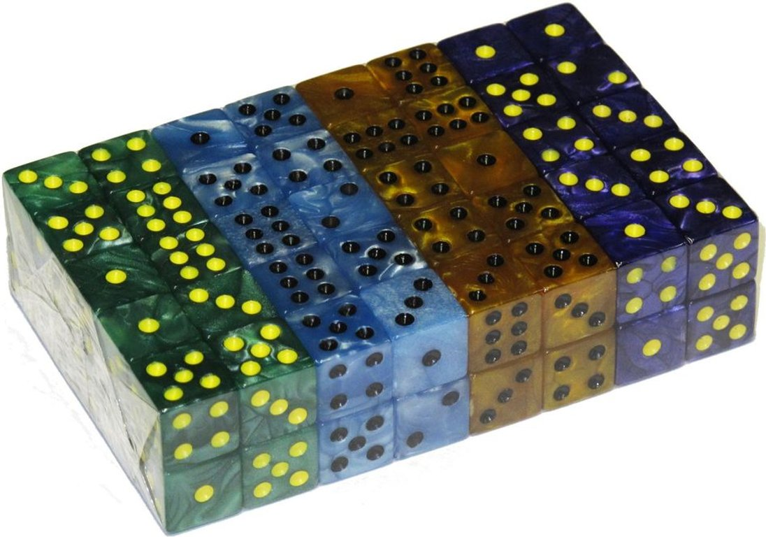Cubist dice