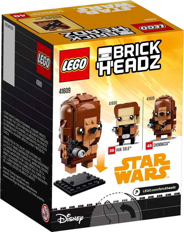 Chewbacca™ back of the box