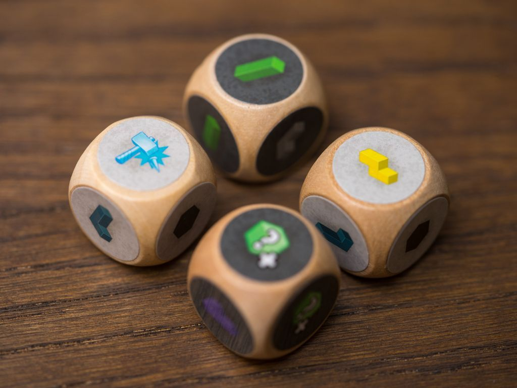 Catacombs Cubes: Monuments dice