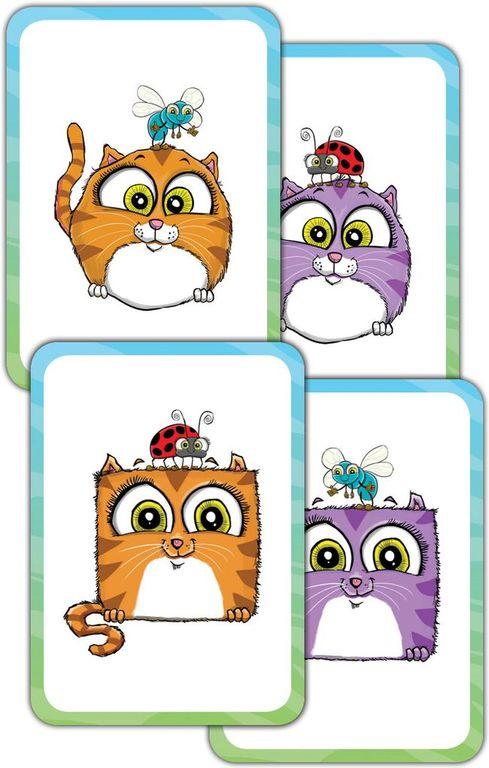 Super Kitty Bug Slap cards