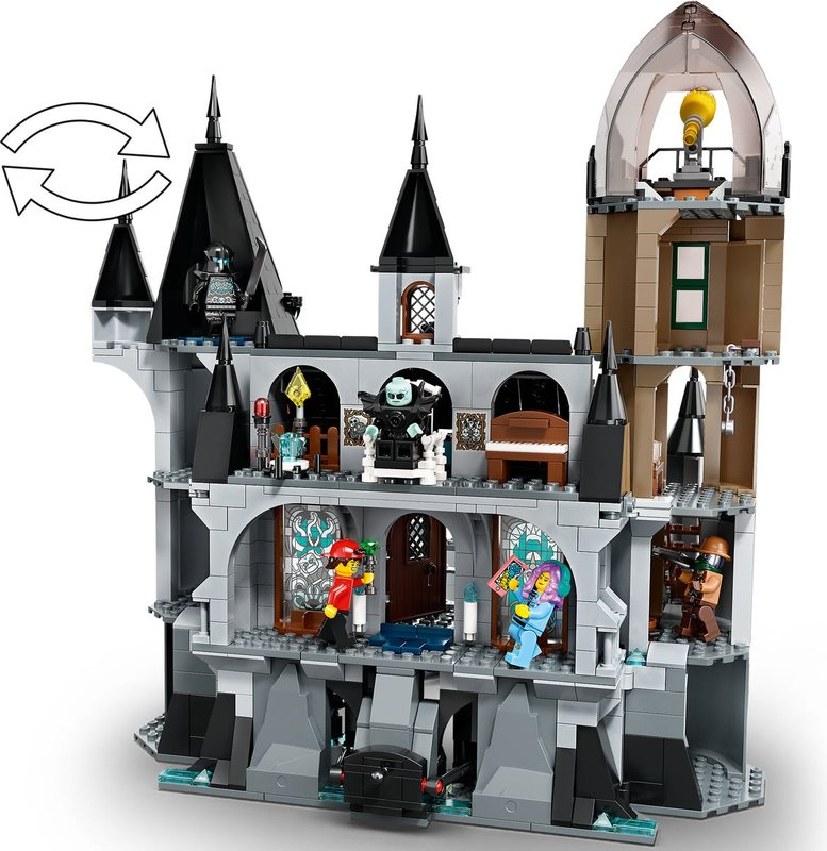 Mystery Castle back side