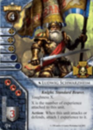 Warhammer: Invasion - Days of Blood ludwig schwarzhelm card