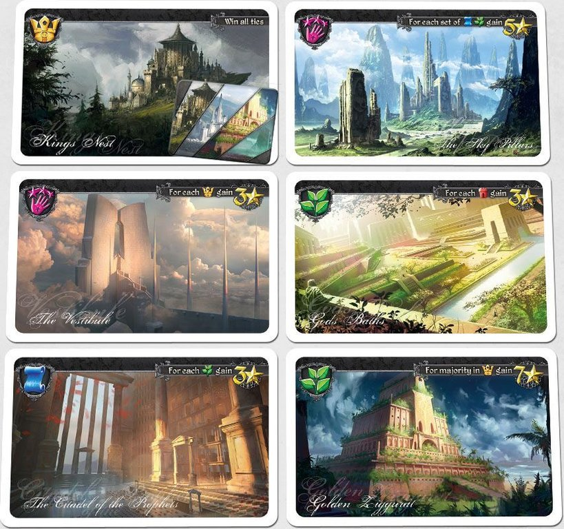 Tides of Time cards