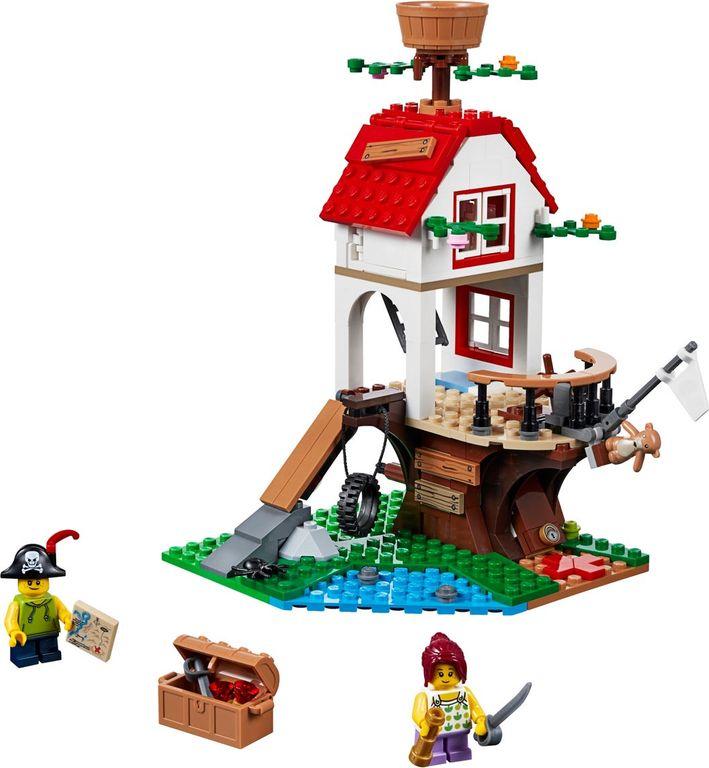 LEGO® Creator Treehouse Treasures components