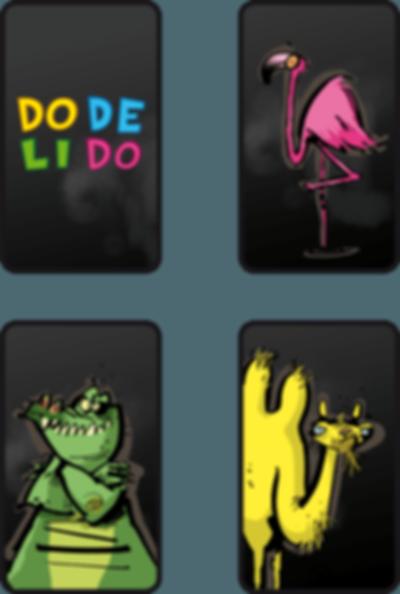 Dodelido cards